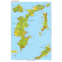 Carta stradale turistica dell'Isola di Ponza