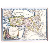 Carta antica della Turchia asiatica 1797