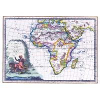 Carta antica dell'Africa 1788