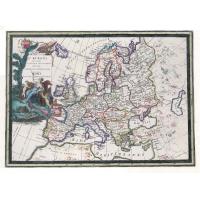 Carta antica dell'Europa 1788