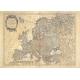 Carta antica dell'Europa 1797