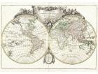 Carta geografica antica del Mondo 1775