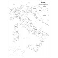 Italia Amministrativa Visceglia Carte E Mappe Geografiche