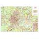 Plan of Padua with postal codes