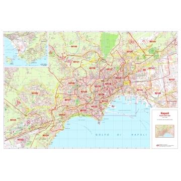 Cartina Stradale Di Napoli Citta.Citta Di Napoli Con Cap