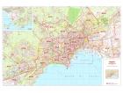 Mappa della Città di Napoli con CAP