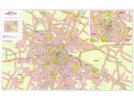 Mappa della Città di Reggio Emilia con CAP