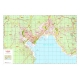 Plan of La Spezia with postal codes