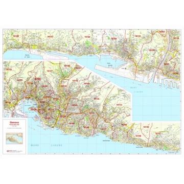 Carte geografiche delle principali città, province e regioni  italiane per pianificazioni commerciali