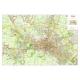Carta Geografica della Città di Bologna con CAP