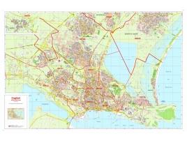 Mappa della Città di Cagliari con CAP