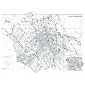 Map of municipality of Roma