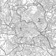 Comune di Roma stradale in bianco e nero particolare