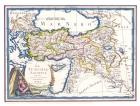 Carta geografica  antica della Turchia asiatica 1797