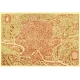 Antique map of Rome