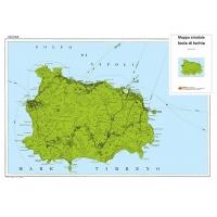 Carta stradale turistica dell'Isola di Ischia