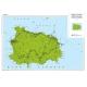 Carta stradale dell'Isola di Ischia