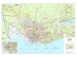Mappa della Città di Livorno con CAP