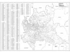 Carta geografica della Regione Lombardia