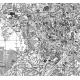 Planimetria di Roma in bianco e nero particolare