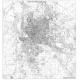 Planimetria di Roma in bianco e nero