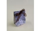 Bomboniere a forma di scatoline in cartoncino fustellate personalizzate