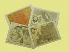 Tovagliette americane plastificate con cartine geografiche