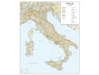 Cartina geografica dell'Italia stradale