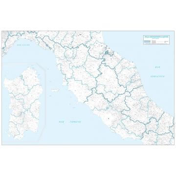 Le carte geografiche con CAP di Visceglia