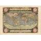 Carta geografica antica del Mondo 1570