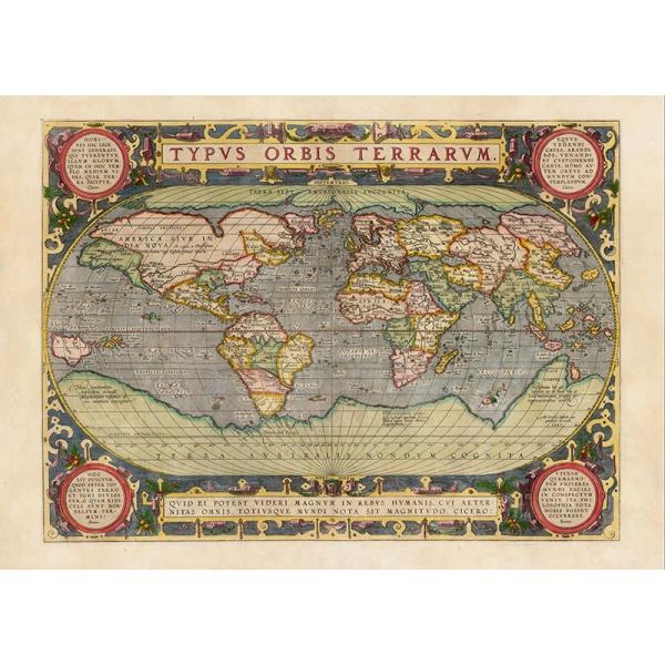 """La """"Mappa di Martellus"""" e i viaggi di Cristoforo Colombo"""