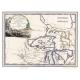 Carta geografica antica degli Stati Uniti Canada e Florida del 1797
