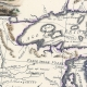 Carta antica degli Stati Uniti Canada e Florida primo foglio 1797
