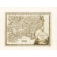 Antique map of Chinese Tartary