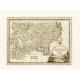 Carta geografica antica della Tartaria Cinese 1798