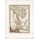 Antique  map of the peninsula of India