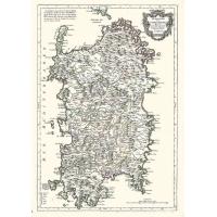 Carta antica della Sardegna 1779