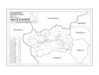 Carta geografica della Regione Valle d'Aosta