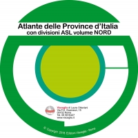 Atlas of Italy provinces ASL North on CD