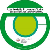Atlas of Italy provinces ASL Center