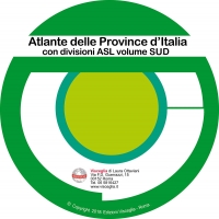 Atlas of Italy provinces ASL South on CD