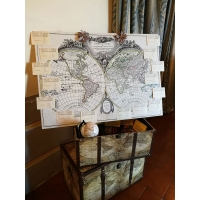 Tableau de mariage printed on panel