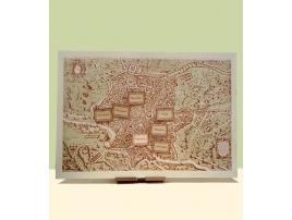 Tableau de mariage su legno di betulla