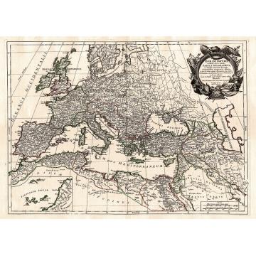 Cartina Geografica Antica.Carta Geografica Antica Dell Impero Romano Visceglia Carte E Mappe Geografiche