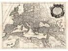 Carta geografica antica dell'impero romano