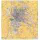 Carta da parati con carte geografiche