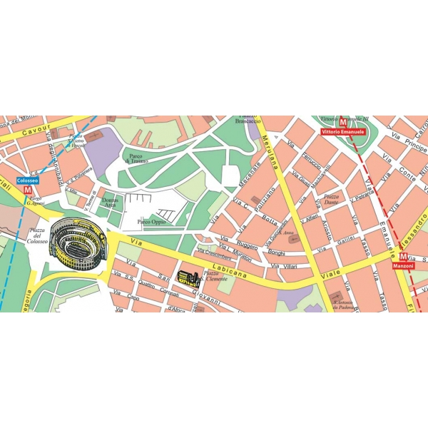 Cartina Citta Roma.Carta Stradale Della Citta Di Roma Visceglia Carte E Mappe Geografiche