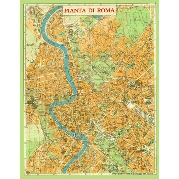 Le carte geografiche vintage, funzionali e glamour