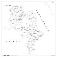 Carta della provincia di Asti