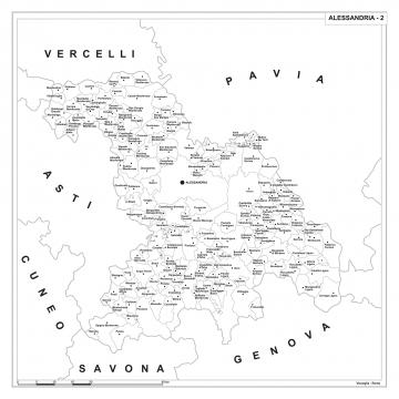 L'archivio di carte geografiche suddivise per CAP più completo d'Italia